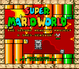 Screenshot Thumbnail / Media File 1 for Super Mario World (USA) [Hack by FPI v1.0] (~Super Mario World - The Second Reality Project - SNES Version)
